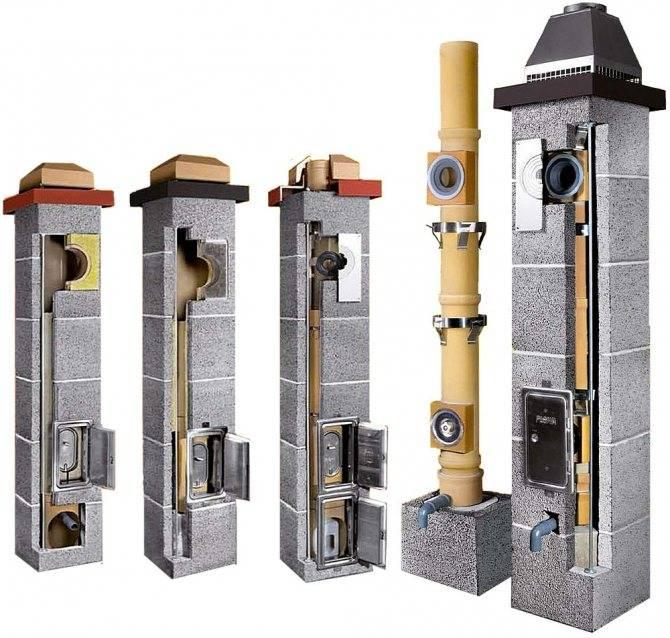 Керамический дымоход: устройство и правила пошагового монтажа