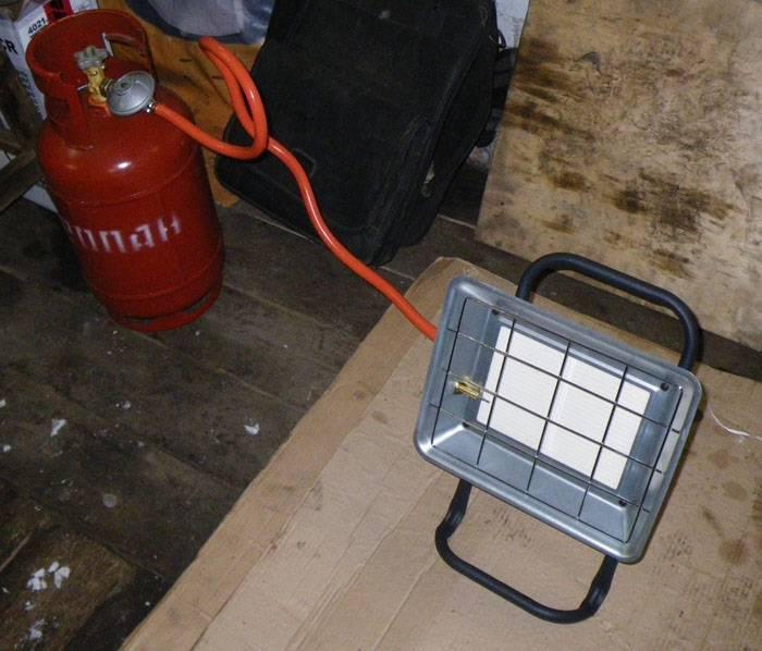Самодельный обогреватель для гаража - простой и недорогой электрический обогреватель