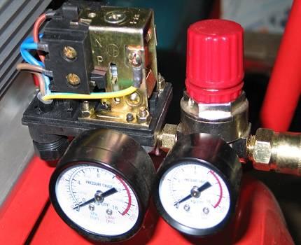 Рабочее давление компрессора, регулировка давления компрессора