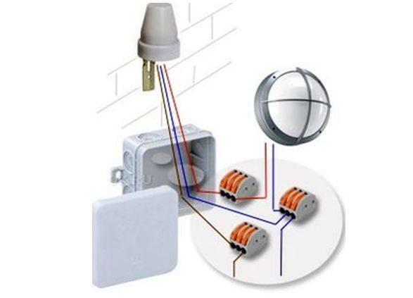 Схема подключения фотореле для уличного освещения: монтаж своими руками