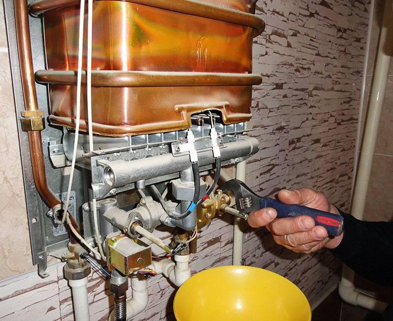 Как почистить газовую колонку от накипи и копоти своими руками
