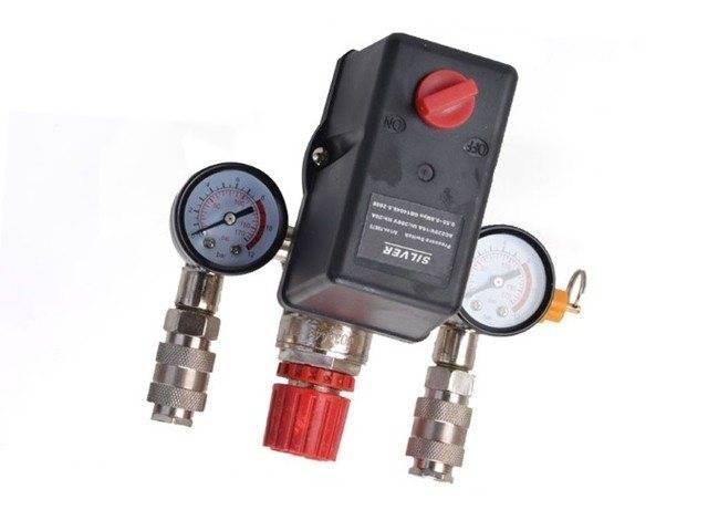 Подключение реле давления для компрессора: устройство, маркировка, и регулировка - точка j