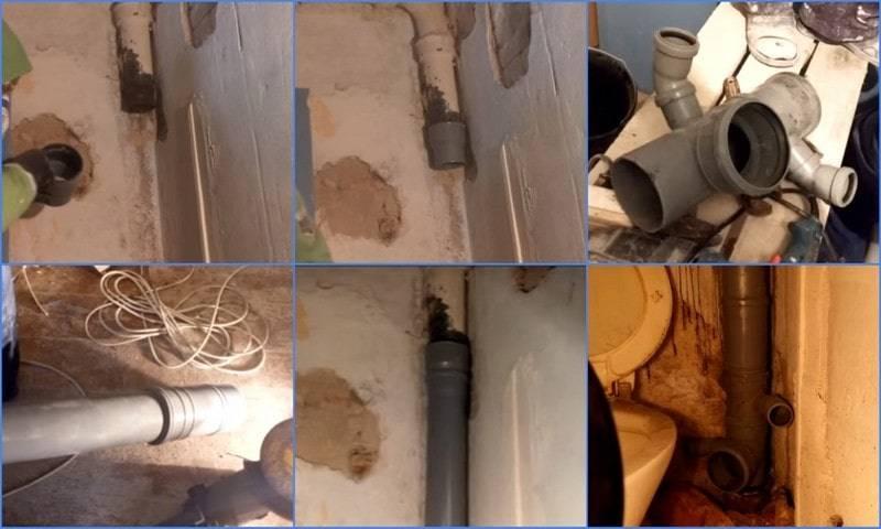 Замена стояка канализации в квартире в несколько несложных этапов