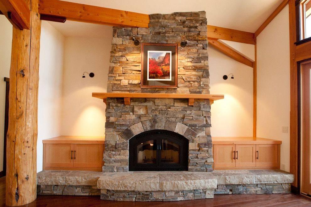 Отопление камином с воздушным контуром частного дома, коттеджа – конструктивные особенности, выбор и принцип работы