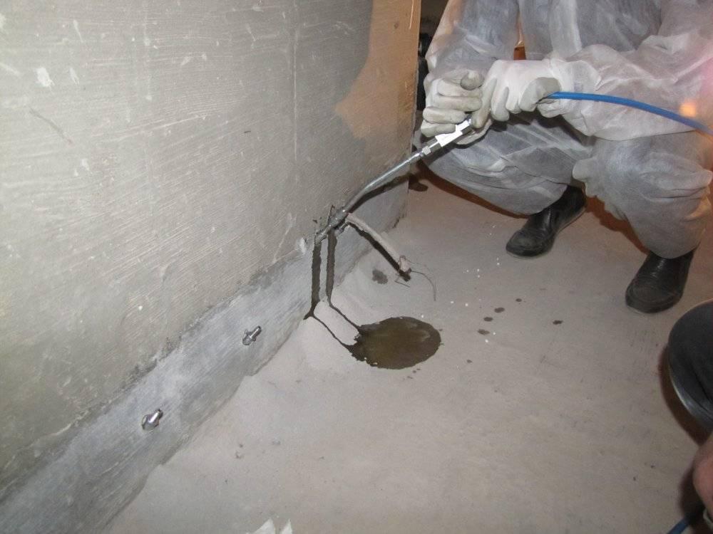 Технология инъектирования трещин в бетоне: материалы, состав, марки бетона   деловой квартал
