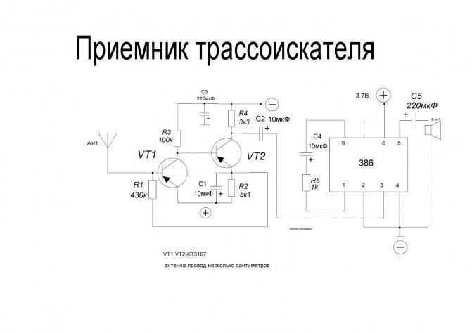 Принцип работы и виды индикаторов скрытой проводки - точка j