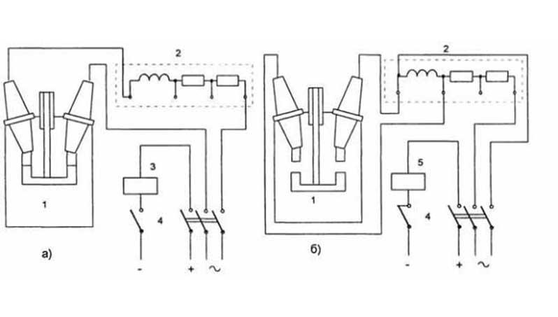 Принцип работы масляного выключателя
