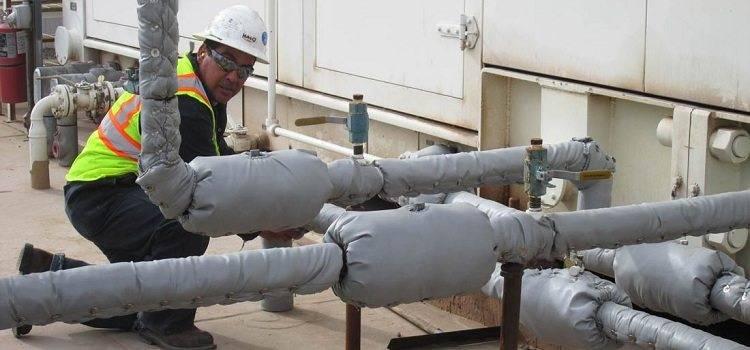Утепление газовой трубы: чем и как утеплить своими руками