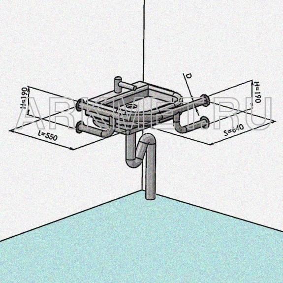 Как закрепить раковину в ванной к стене: подробный инструктаж по креплению
