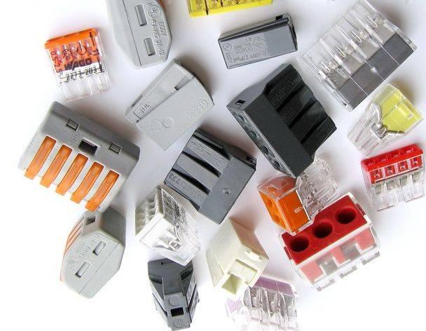 Клеммы для соединения проводов – назначение, разновидности и особенности применения
