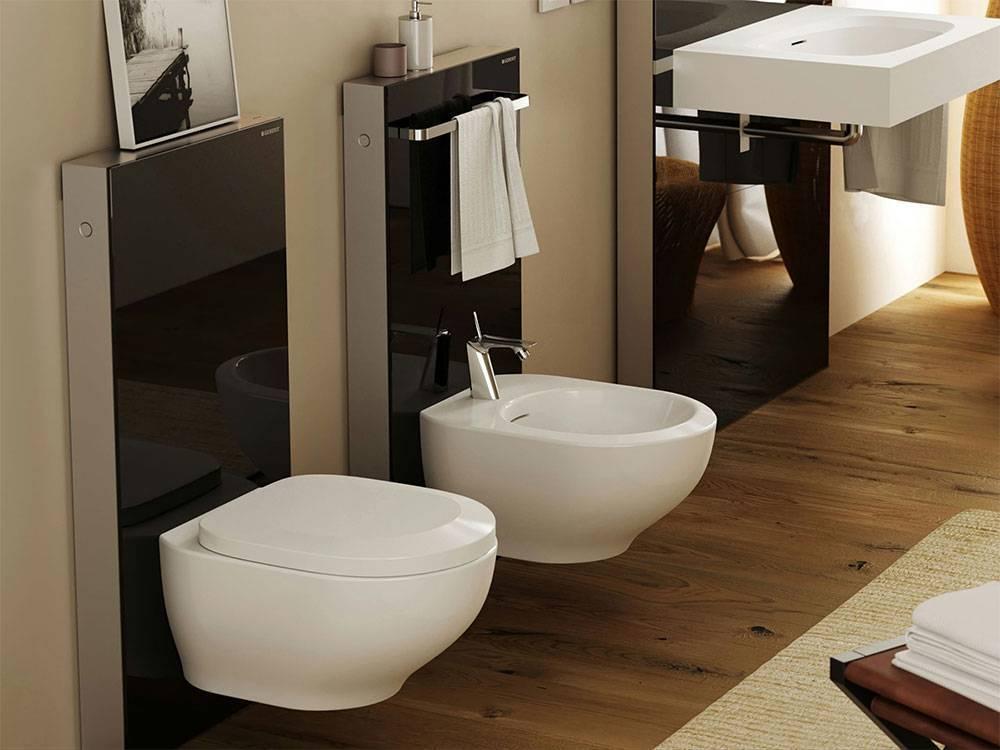 Дизайн туалета в квартире: выбираем отделку — кафель, обои, краска, пвх-панели (45 фото)