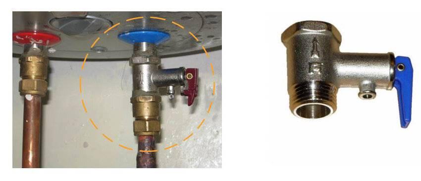 Предохранительный клапан для водонагревателя: принцип работы, разновидности, монтаж
