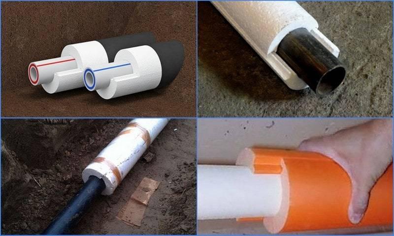 Утеплитель для труб канализации: необходимость, методы профилактики, требования, виды, инструкция по монтажу