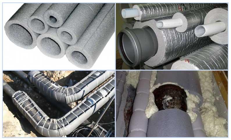 Выбираем утеплитель для труб канализации, водопровода и отопления — самые эффективные варианты