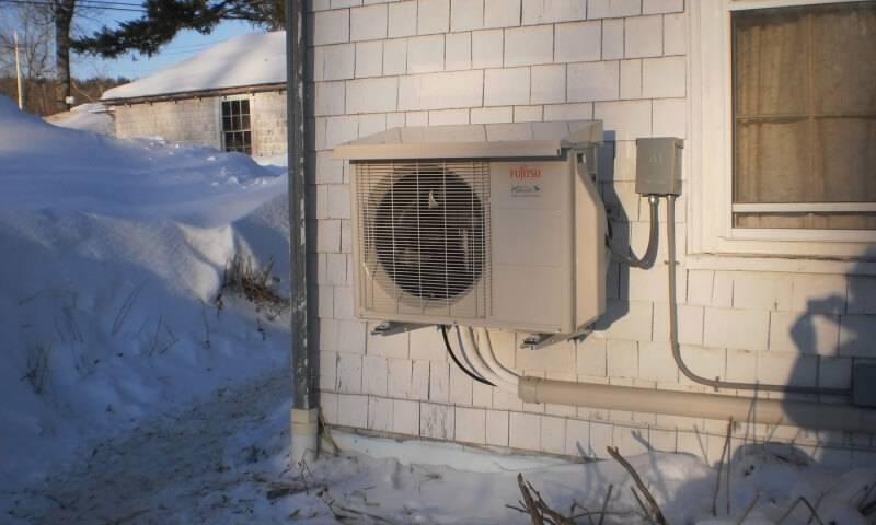 Можно ли включать кондиционер зимой: при какой температуре можно включать на обогрев и до сколько градусов