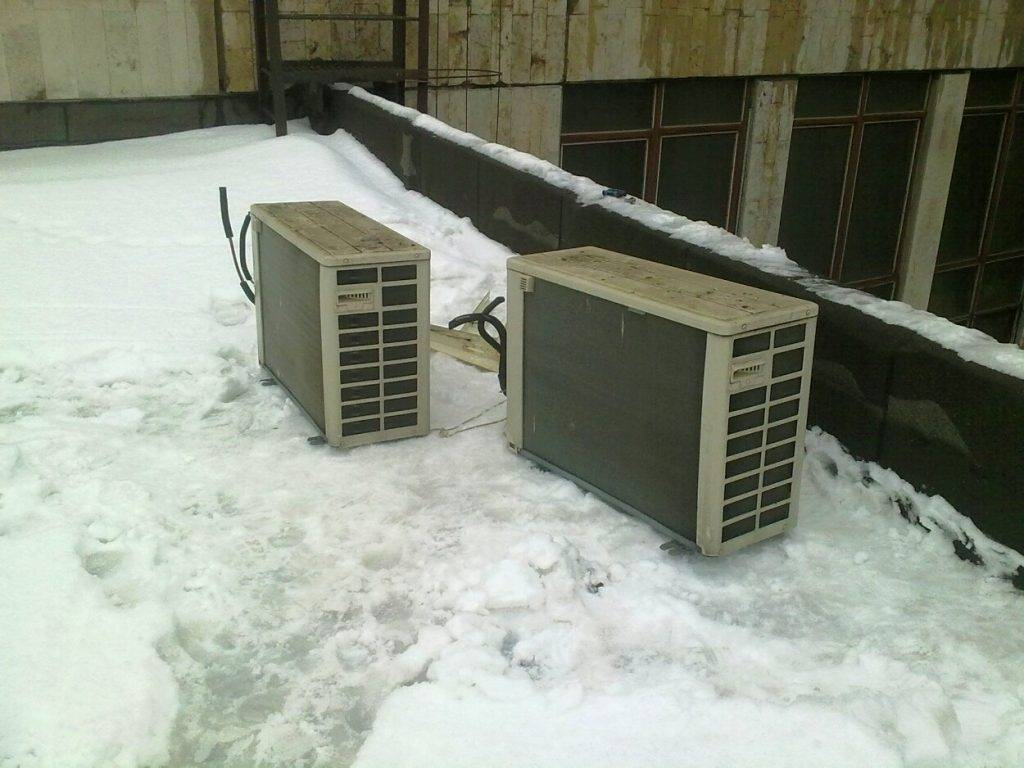 Кондиционер зимой — можно ли включать и как подготовить устройство к зиме?