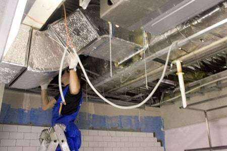 Восстановление вентиляционного короба на кухне
