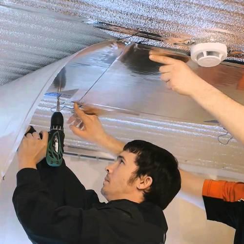 Пленочные инфракрасные обогреватели потолочные