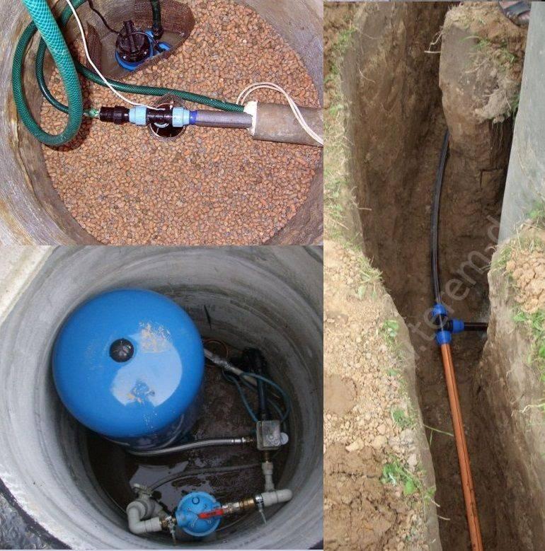 Водоснабжение на даче: источники, схемы, оборудование