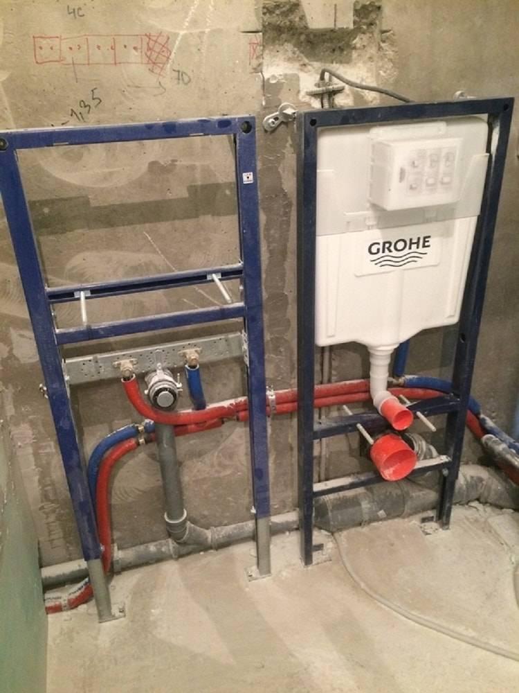 Схема подключения биде к водопроводу и канализации в туалете: нюансы установки