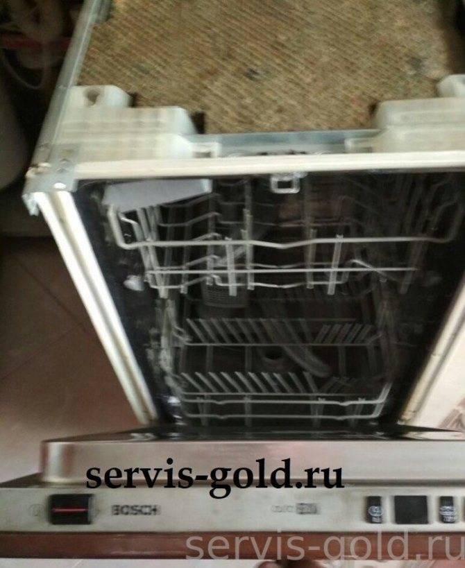 Как отремонтировать или заменить тен посудомоечной машины?