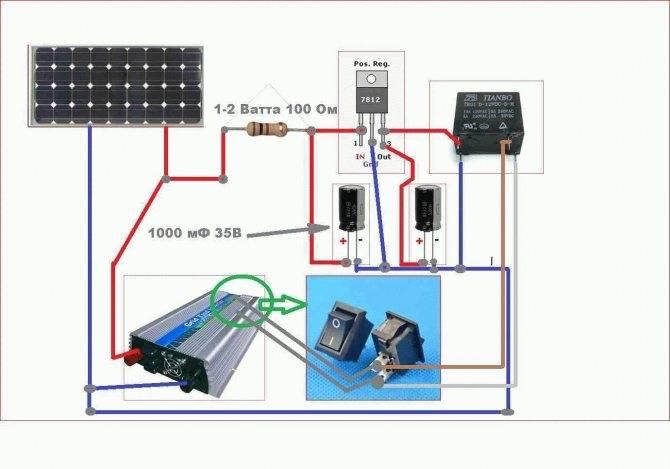 Способы подключения солнечных батарей - схемы и порядок работы