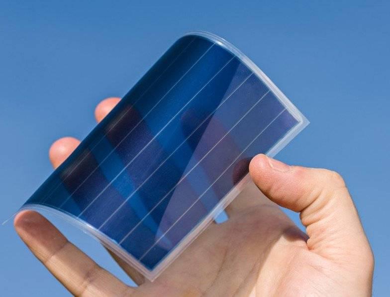 Тонкопленочные солнечные батареи: гибкие, складные, цилиндрические