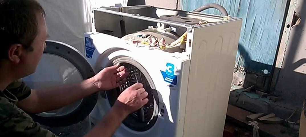 Ремонтируем стиральную машину lg своими руками