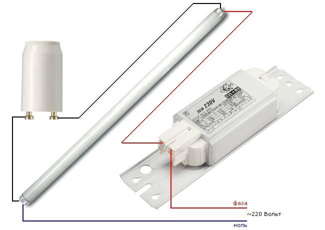Эпра - что это такое, схема подключения к светильникам и лампам, фото, видео