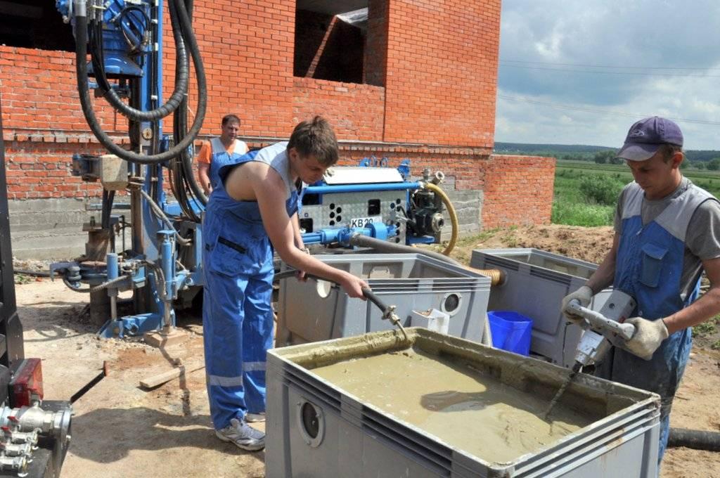 Технология затрубной цементации скважин