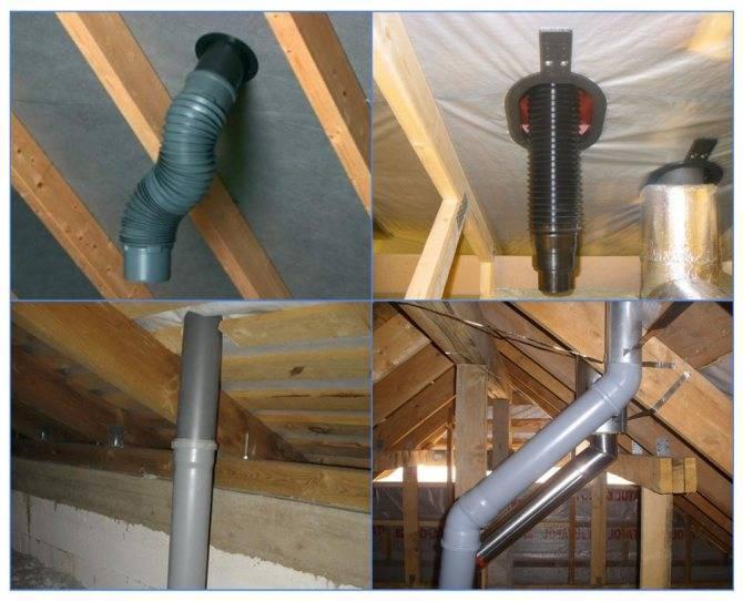 Вентиляция из канализационных труб в частном доме: изготовление своими руками