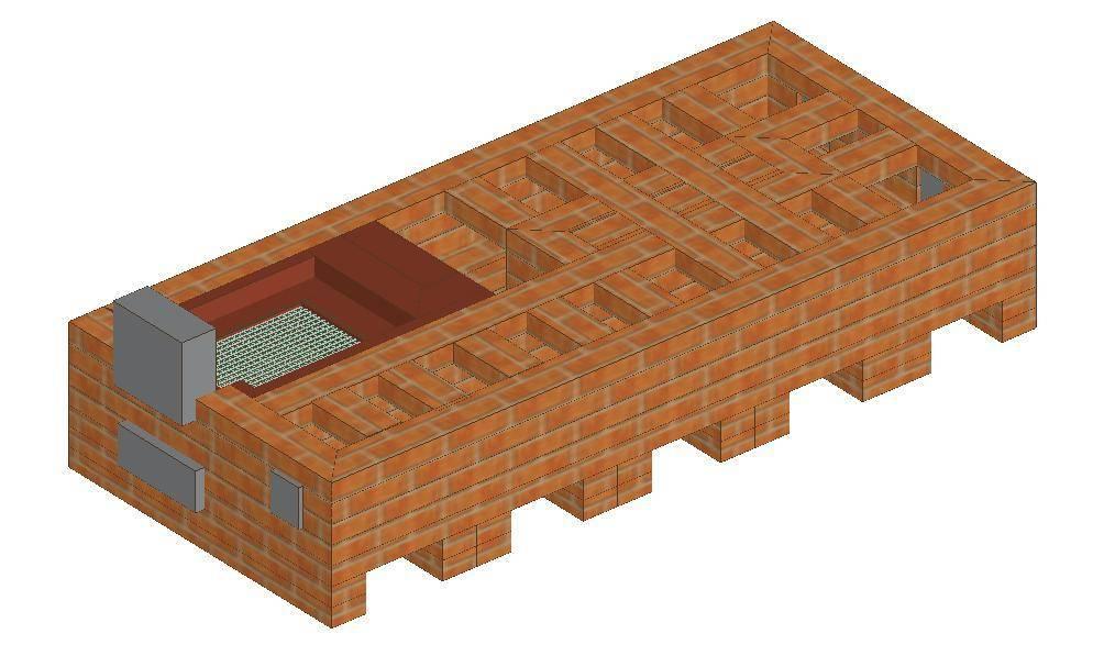 Русская печь с камином и лежанкой – сложная конструкция для большого дома