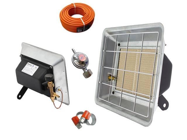 Использование инфракрасного обогревателя в гараже – плюсы и минусы