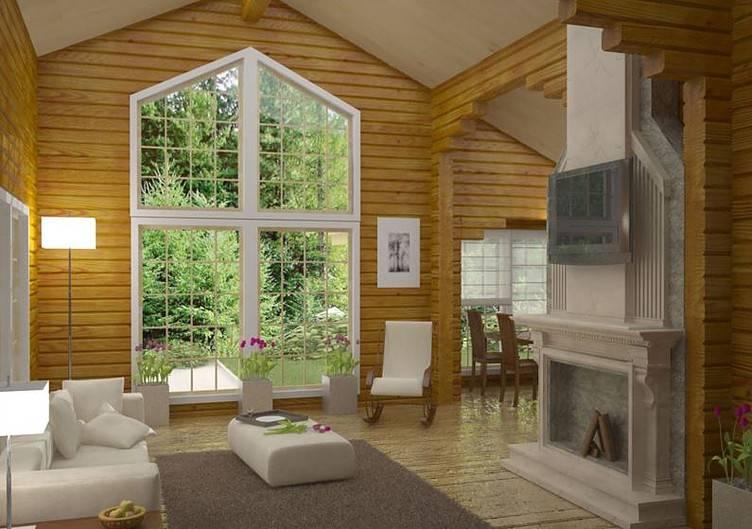 Второй свет в доме: что это такое, дизайн и проекты домов со вторым светом + фото интерьеров