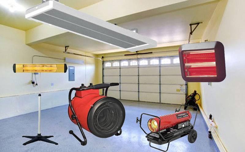 Самый экономичный способ отопления гаража: обзор вариантов отопления