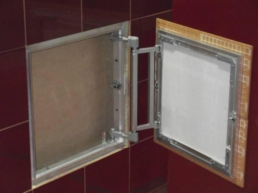 Люк для ванной: 3 способа монтажа ревизионных люков пошагово, установка,скрытый люк,под плитку, плитка на магнитах в ванне.