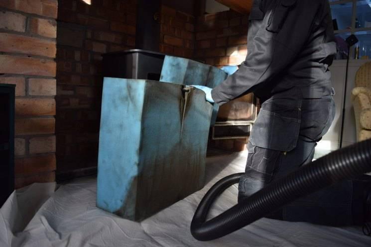 Как прочистить дымоход от сажи народными средствами и специальными средствами: обзор препаратов, советы. чем почистить дымоход от сажи: обзор механических способов