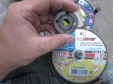 Какой стороной ставить диск на болгарку алмазный инструмент