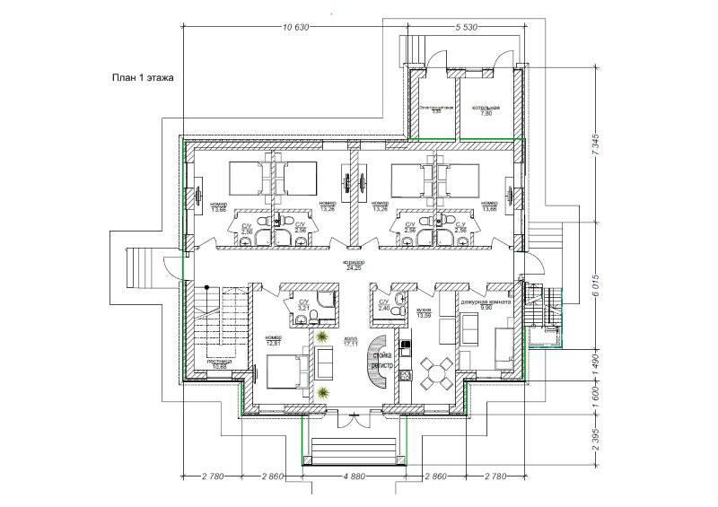 Схема отопления двухэтажного дома с двухконтурным котлом - всё об отоплении