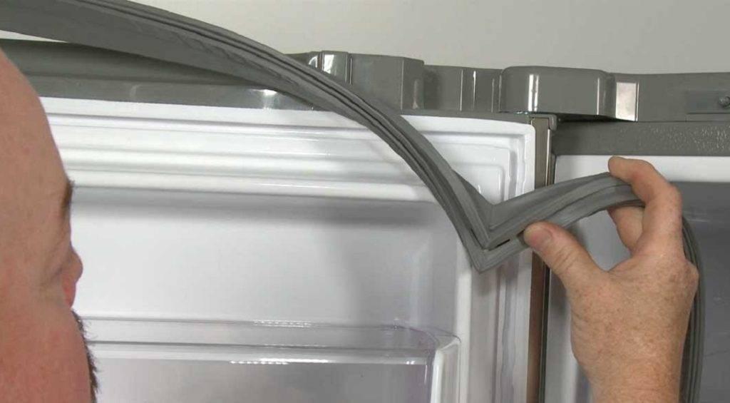 Замена уплотнительной резинки на двери в холодильнике liebherr