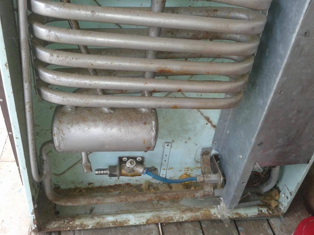 Газовый холодильник ремонт, как сделать своими руками