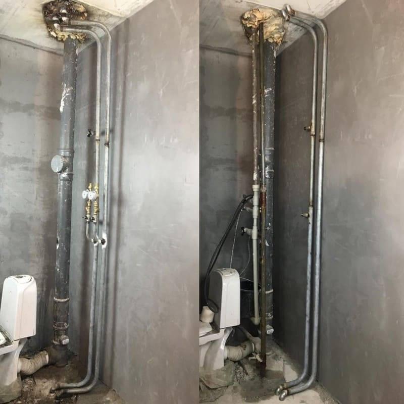 Как происходит согласование о переносе стояков водоснабжения в квартире