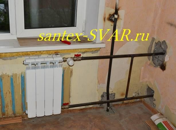Как соединить два радиатора отопления между собой - всё об отоплении