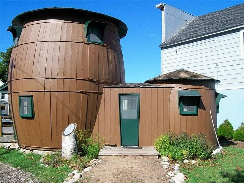 10 самых необычных домов в мире: подборка