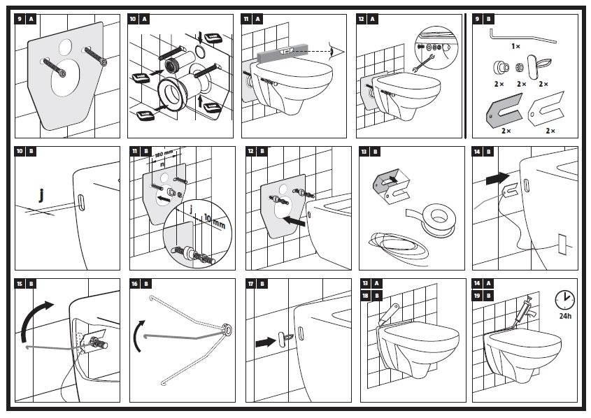 Установка инсталляции унитаза: подробная инструкция по монтажу рамной, блочной, своими руками
