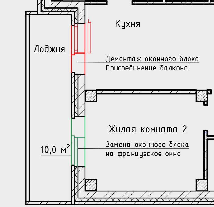 Согласование балкона: перепланировка и надстройка