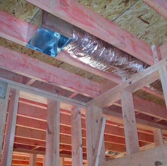 Монтаж вентиляции в каркасном доме   termopro
