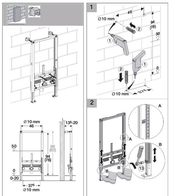 Как установить подвесной унитаз: простая пошаговая инструкция (25 фото) | дизайн и интерьер ванной комнаты