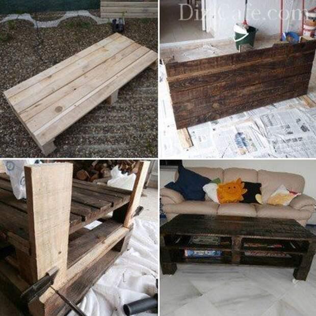 Мебель из поддонов своими руками пошагово, фото и советы специалистов