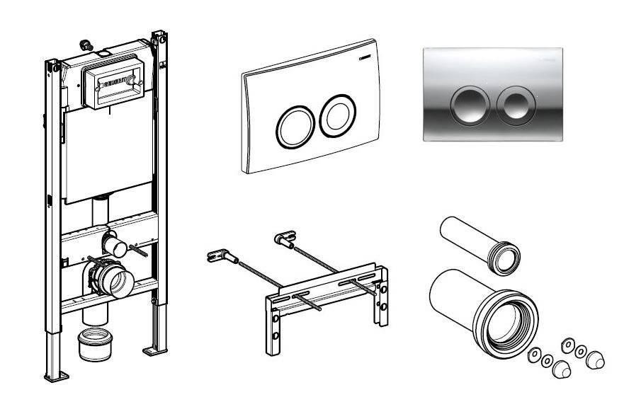 Монтаж подвесного унитаза на инсталляцию – пошаговая инструкция +видео